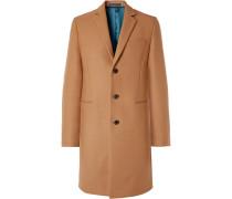 Slim-Fit Wool-Blend Overcoat