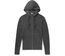 Loopback Supima Cotton-jersey Zip-up Hoodie