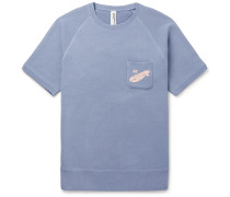 + Loopwheeler Printed Loopback Cotton-Jersey Sweatshirt
