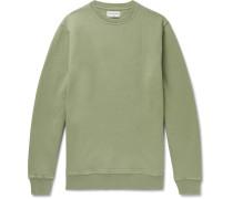Harris Brushed Fleece-Back Cotton-Jersey Sweatshirt