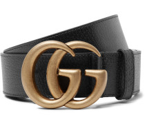 4cm Dark-brown Full-grain Leather Belt
