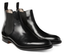 Houston Leather Chelsea Boots - Black