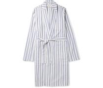 Striped Organic Cotton Robe