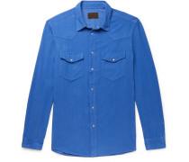 Houston Cotton-Corduroy Western Shirt