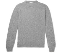 Textured Virgin Wool and Cashmere-Blend Sweater