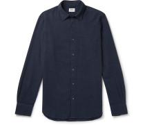 Slim-Fit Cotton-Seersucker Shirt