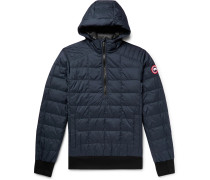 Wilmington Quilted Nylon Down Hooded Jacket