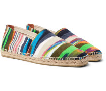 + Missoni Striped Canvas Espadrilles - Multi