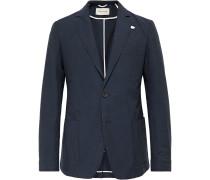 Slim-Fit Cotton-Seersucker Suit Jacket