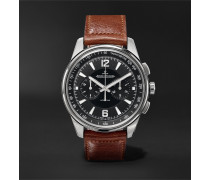 Polaris Chronograph 42mm Stainless Steel and Leather Watch, Ref. No. 9028480