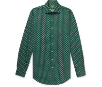 + Liberty London Printed Cotton-Poplin Shirt