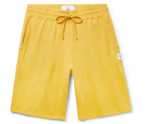Loopback Pima Cotton-jersey Drawstring Shorts