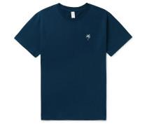 Embroidered Cotton-Jersey Pyjama T-Shirt