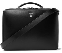 Baker Saffiano Leather Briefcase