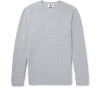 Hubert Honeycomb-knit Cotton Sweater