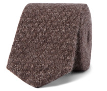 6cm Mélange Cashmere And Silk-blend Knitted Tie