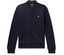 Tech-jersey Zip-up Sweatshirt - Navy