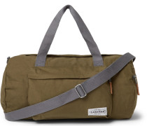 Calum Canvas Holdall - Army green
