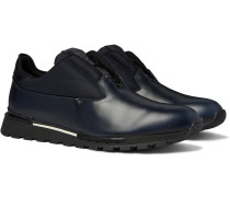 Fast Track Torino Leather and Neoprene Sneakers