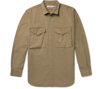 Hunter Cotton-Ripstop Overshirt