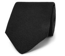 8cm Textured-silk Tie