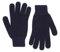 Ribbed Cashmere And Wool-blend Gloves