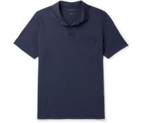 Slim-Fit Technical Stretch-Nylon Piqué Polo Shirt