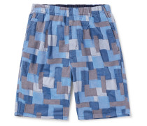 Manager Easy Patchwork Cotton Shorts