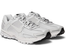 Zoom Vomero 5 Canvas-trimmed Mesh Sneakers - Gray