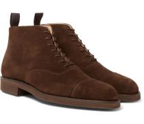 William Cap-toe Suede Boots