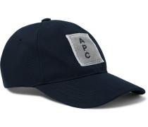 Logo-Appliquéd Cotton-Twill Baseball Cap