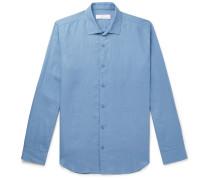 + Orlebar Brown Giles Linen Shirt