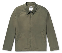 Cotton and Nylon-Blend Jacket