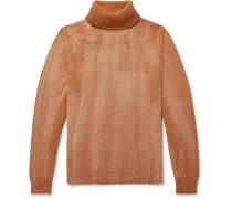 Milton Mélange Cashmere Rollneck Sweater