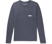 Aoxoa Printed Cotton-Jersey T-Shirt