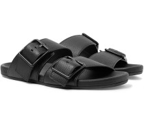 Full-grain Leather Sandals - Black