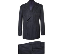 Harry's Navy Pinstriped Super 120s Wool Suit