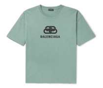 Logo-Print Cotton-Jersey T-Shirt