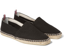 Pablo Canvas Espadrilles - Black