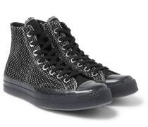 Chuck 70 Woven High-top Sneakers - Black