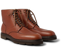 Helston Full-grain Leather Boots
