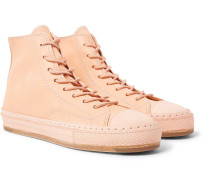 Mip-19 Leather High-top Sneakers