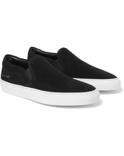 Common Projects Herren Suede Slip-on Sneakers Verkauf Authentisch ehmGVOr