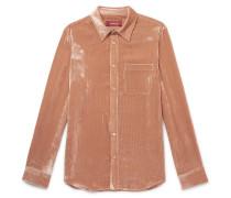 Sander Velvet-Corduroy Shirt
