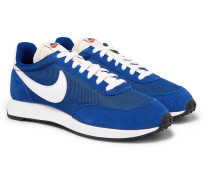 Air Tailwind 79 Mesh, Suede And Leather Sneakers - Blue