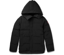 Macmillan Quilted Shell Hooded Down Parka