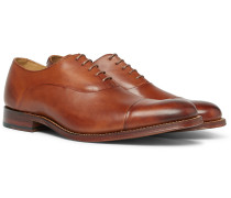 Bert Cap-toe Leather Oxford Shoes
