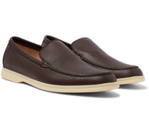Summer Walk Full-grain Leather Loafers