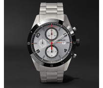 Timewalker Chronograph Automatic 43mm Stainless Steel And Ceramic Watch - Unknown