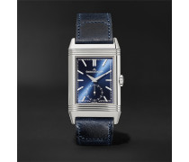 Reverso Tribute Hand-wound 27mm Stainless Steel And Leather Watch